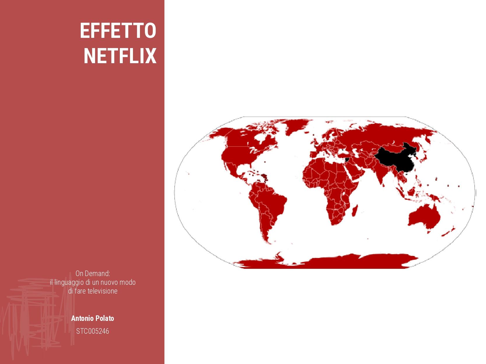 On demand il linguaggio di un nuovo modo di fare la televisione Antonio Polato effetto netflix
