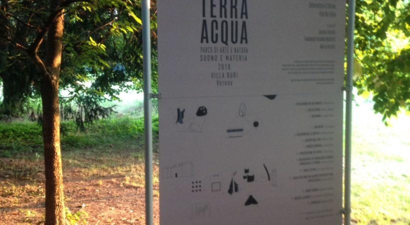 Antonio Polato Linea Terra Acqua 2018 Accademia di Belle Arti di Verona