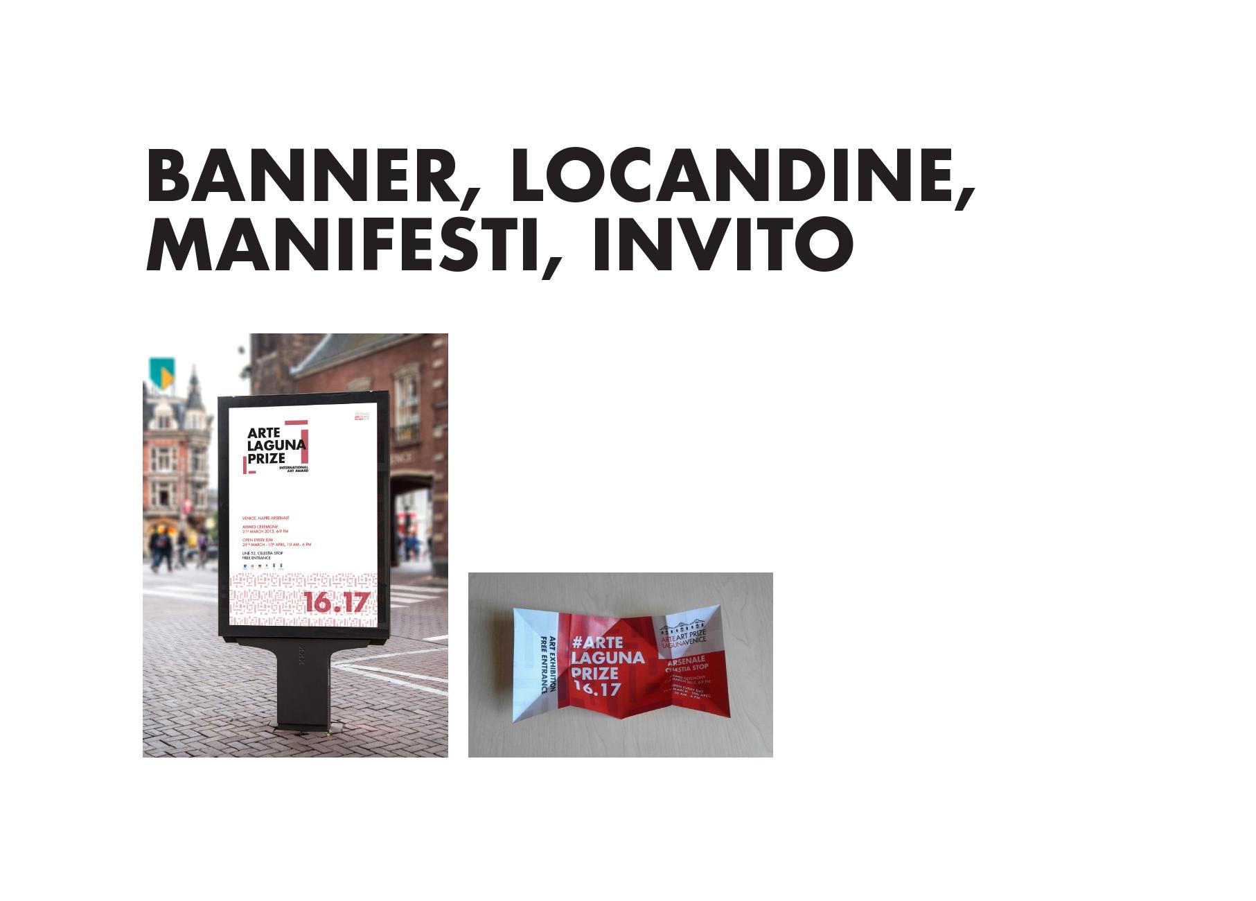 Arte Laguna Antonio Polato 2017 De Stijl Banner Locandine Manifesti Invito